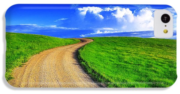Rural Scenes iPhone 5c Case - Road To Heaven by Kadek Susanto