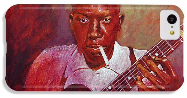Robert Johnson Photo Booth Portrait IPhone 5c Case by David Lloyd Glover
