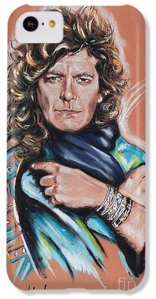Robert Plant IPhone 5c Case by Melanie D