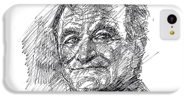 Robin iPhone 5c Case - Robin Williams by Ylli Haruni