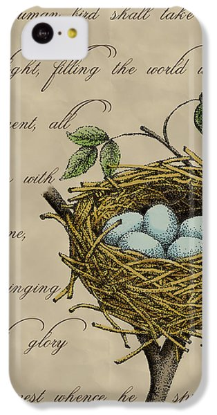 Robin's Nest IPhone 5c Case by Christy Beckwith