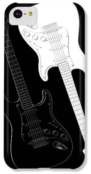Rock And Roll Yin Yang IPhone 5c Case by Mike McGlothlen