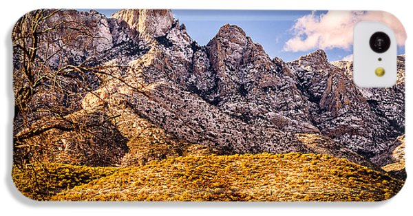 IPhone 5c Case featuring the photograph Rocky Peaks by Mark Myhaver