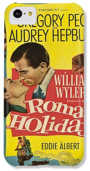 Roman Holiday - 1953 IPhone 5c Case