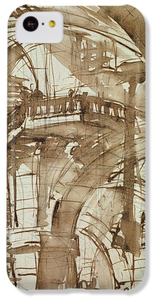 Roman Prison IPhone 5c Case by Giovanni Battista Piranesi