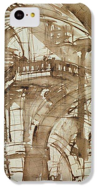 Dungeon iPhone 5c Case - Roman Prison by Giovanni Battista Piranesi