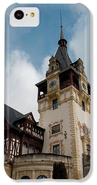 Romania Transylvania Sinaia Peles Castle IPhone 5c Case by Inger Hogstrom