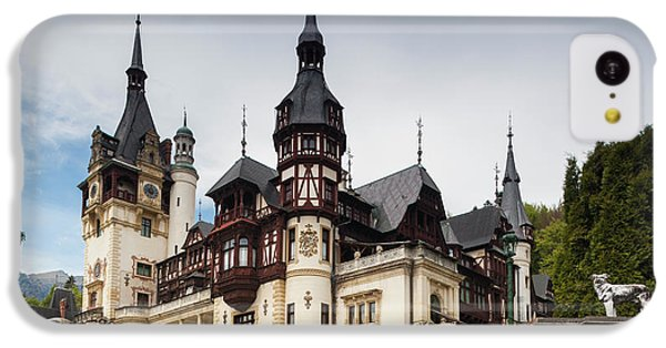 Romania, Transylvania, Sinaia, Peles IPhone 5c Case
