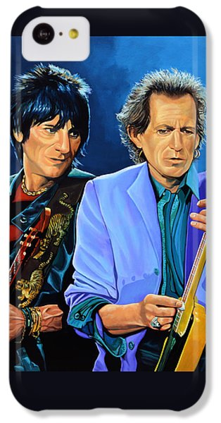 Ron Wood And Keith Richards IPhone 5c Case