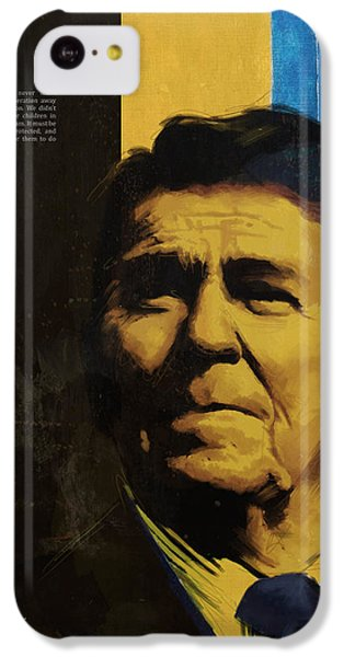 Ronald Reagan IPhone 5c Case by Corporate Art Task Force