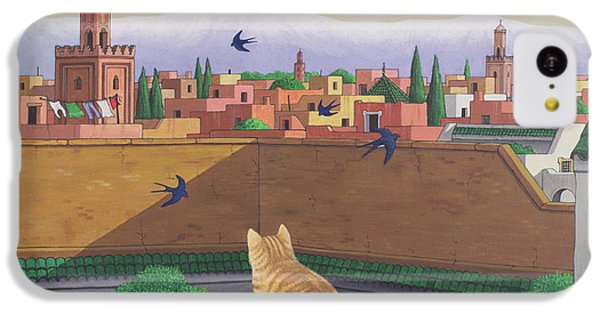 Rooftops In Marrakesh IPhone 5c Case by Larry Smart