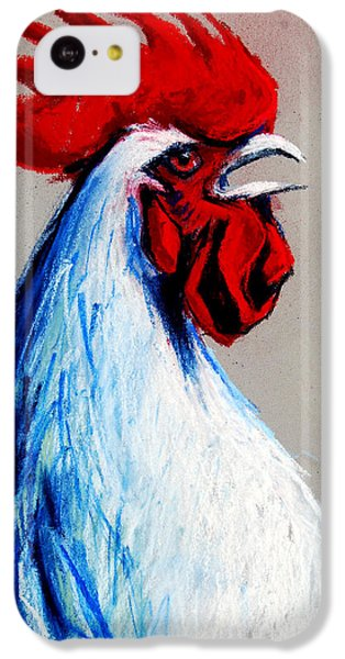 Rooster Head IPhone 5c Case by Mona Edulesco