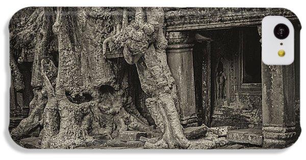 Roots In Ruins 7, Ta Prohm, 2014 IPhone 5c Case by Hitendra SINKAR