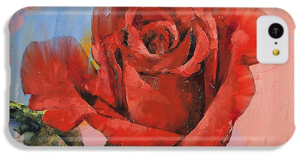 Rose iPhone 5c Case - Rose Painting by Michael Creese