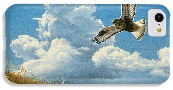 Hawk iPhone 5c Case - Rough-legged Hawk by Paul Krapf