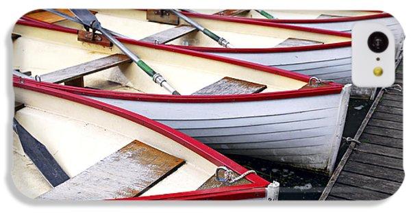 Boat iPhone 5c Case - Rowboats by Elena Elisseeva