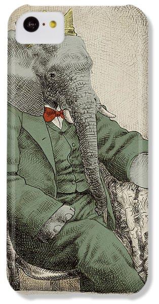 Animals iPhone 5c Case - Royal Portrait by Eric Fan