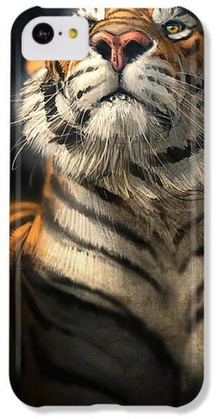 Tiger iPhone 5c Case - Royalty by Aaron Blaise