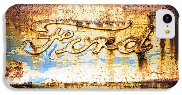 Rusty Old Ford Closeup IPhone 5c Case