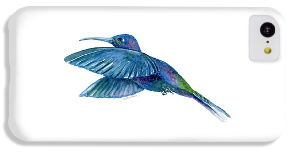 Sabrewing Hummingbird IPhone 5c Case by Amy Kirkpatrick
