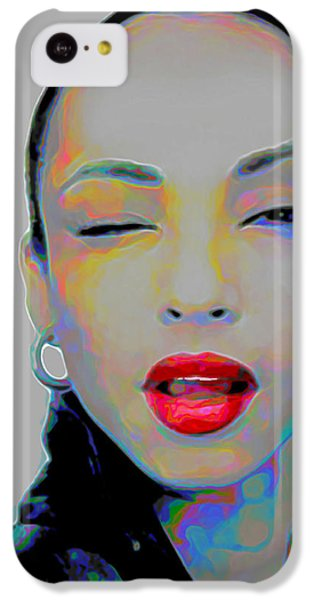 Rhythm And Blues iPhone 5c Case - Sade 3 by Fli Art