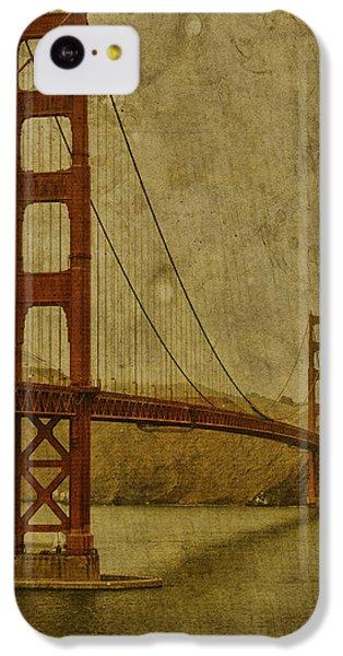 Golden Gate Bridge iPhone 5c Case - Safe Passage by Andrew Paranavitana