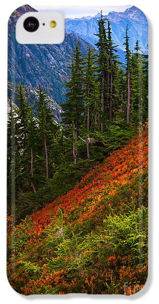 Sahale Arm IPhone 5c Case by Inge Johnsson