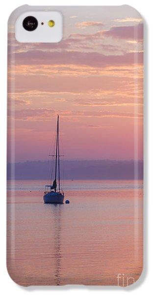 Sailboat At Sunrise In Casco Bay Maine IPhone 5c Case