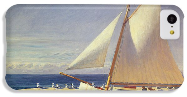 Sailing Boat IPhone 5c Case by Edward Hopper