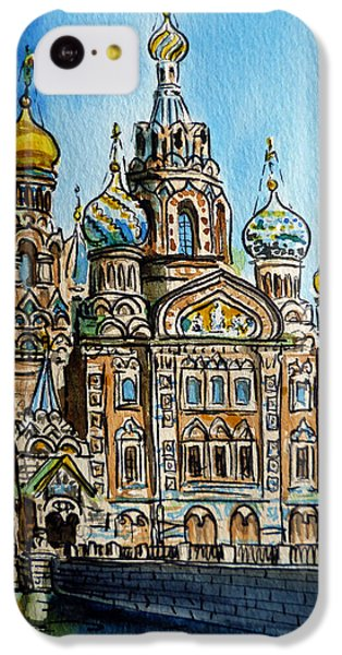 Saint Petersburg Russia The Church Of Our Savior On The Spilled Blood IPhone 5c Case