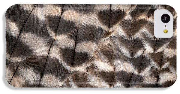 Saker Falcon Wing Feathers Abstract IPhone 5c Case by Nigel Downer