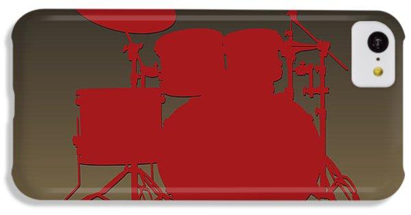 San Francisco 49ers Drum Set IPhone 5c Case by Joe Hamilton