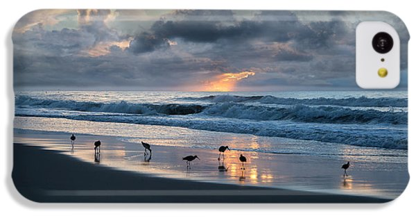 Sandpipers In Paradise IPhone 5c Case by Betsy Knapp