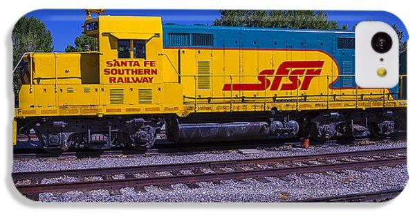 Roadrunner iPhone 5c Case - Santa Fe Southern Railway Engine by Garry Gay