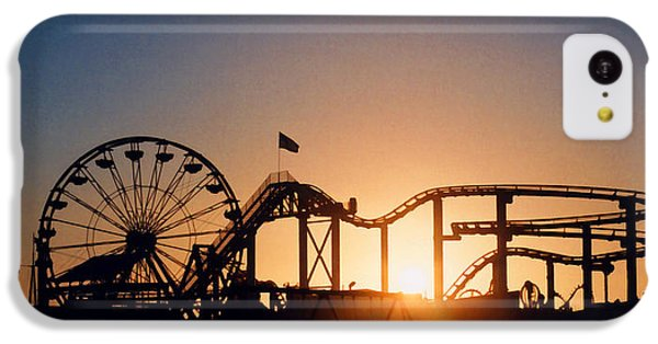 Santa Monica Pier IPhone 5c Case