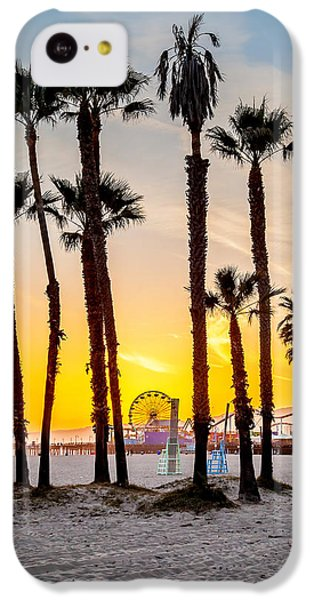 Santa Monica Palms IPhone 5c Case