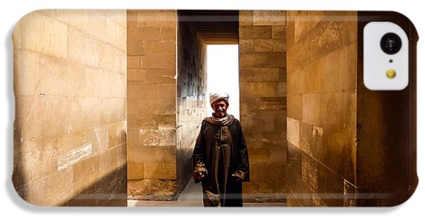 IPhone 5c Case featuring the photograph Saqqara Temple by Anthony Baatz