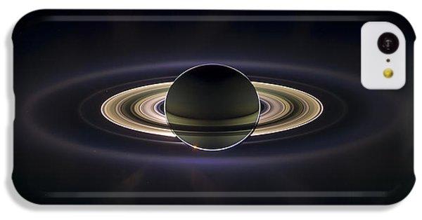 Saturn IPhone 5c Case by Adam Romanowicz