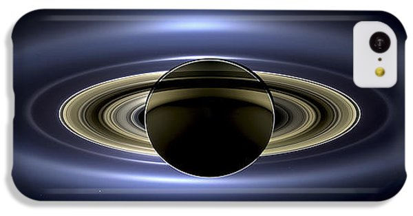 Saturn Mosaic With Earth IPhone 5c Case