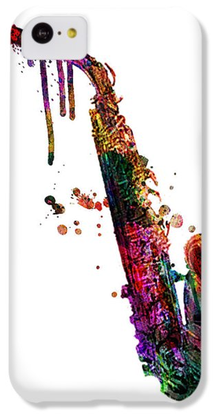 Saxophone iPhone 5c Case - Saxophone 2 by Mark Ashkenazi