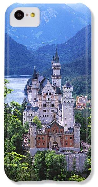 Schloss Neuschwanstein IPhone 5c Case by Timm Chapman