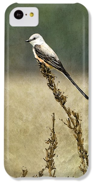 Scissortailed-flycatcher IPhone 5c Case by Betty LaRue