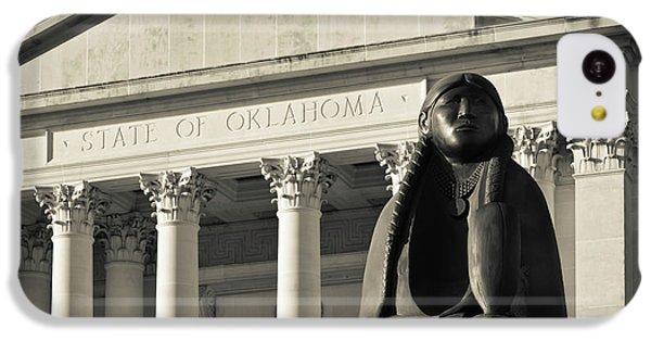 Sculpture Of Native American IPhone 5c Case