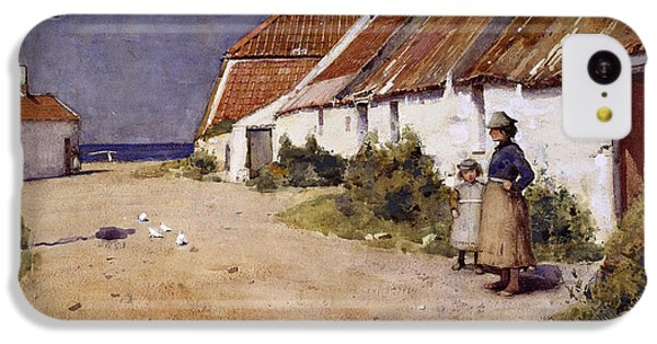 Seaside Cottages With Dovecot IPhone 5c Case by Edward Arthur Walton