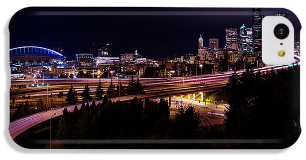 Seattle iPhone 5c Case - Seattle Bend by Chad Dutson