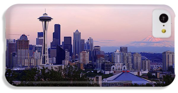 Seattle Dawning IPhone 5c Case by Chad Dutson