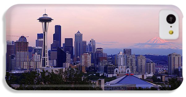 Seattle iPhone 5c Case - Seattle Dawning by Chad Dutson
