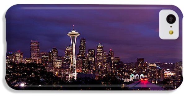 Seattle iPhone 5c Case - Seattle Night by Chad Dutson