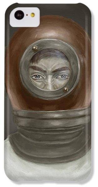 iPhone 5c Case - Self Portrait by Balazs Solti