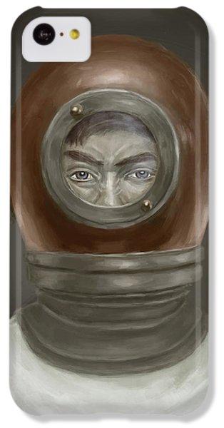 Self Portrait IPhone 5c Case by Balazs Solti
